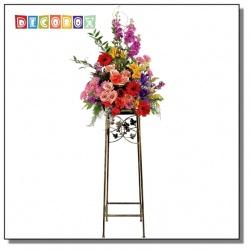 DecoBox鄉村風青銅平台大花架