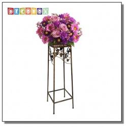 DecoBox鄉村風青銅平台中花架