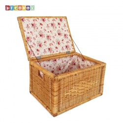 DecoBox秋藤編織中收納箱( 雜物箱, 玩具箱, 衣物收納,非坐箱)