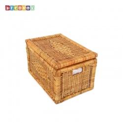 DecoBox秋藤編織小收納箱( 雜物箱, 玩具箱, 衣物收納,非坐箱)