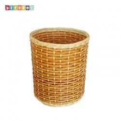 DecoBox自然風藤編中收納桶(垃圾桶, 盆套,法國麵包盤,備品籃,收納雜物)
