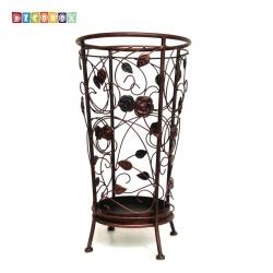 DecoBox舞藤古銅圓形萬用傘桶(北歐工業風,傘架,紙簍,收納桶,花盆套,颱風,下雨)