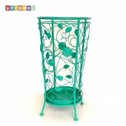 DecoBox舞藤土耳其藍圓形萬用傘桶(北歐工業風,傘架,紙簍,收納桶,花盆套,颱風,下雨)