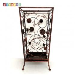 DecoBox舞藤古銅方形萬用傘桶(北歐工業風,傘架,紙簍,收納桶,花盆套,颱風,下雨)