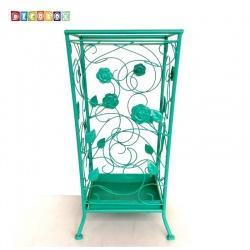 DecoBox舞藤土耳其藍方形萬用傘桶(北歐工業風,傘架,紙簍,收納桶,花盆套,颱風,下雨)