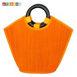 DecoBox亮眼橘黃晚宴包