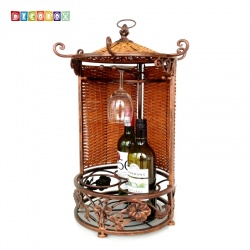 DecoBox峇里島紅酒收納掛架(酒架, 多肉花架)