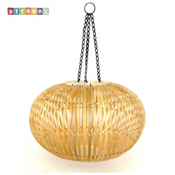 DecoBox中國風原色竹燈罩(40公分)-不含燈泡線材,宴王