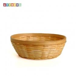 DecoBox竹編小橢圓麵包盤(10個)(瓜子盤, 竹籃)