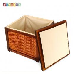 DecoBox峇里島復古木坐箱( 限重60公斤)( 雜物箱, 玩具箱, 衣物收納,非坐箱)