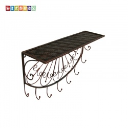 DecoBox古銅兩用大衣架(外套衣架, 多肉花架,吊衣架,家飾,吊飾)
