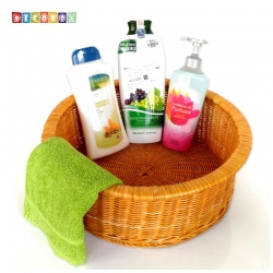 DecoBox日式澡堂衣物小收納籃(澡堂,SPA,三溫暖,拖鞋籃, 備品籃, 收納雜物籃)