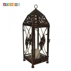 DecoBox鄉村風-地中海燭台花架(小-1個) ( 金屬燭台.多肉花架 - 燈罩.燈籠.lantern)