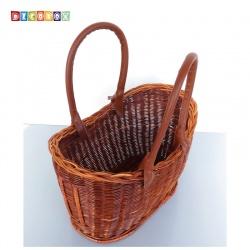 DecoBox休閒風橢圓藤芯小野餐籃 (宴王,野餐, 洗衣藍,收納籃)