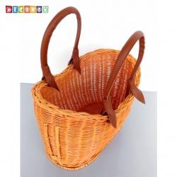 DecoBox鄉村風橢圓藤芯小野餐籃 (宴王,野餐, 洗衣藍,收納籃)