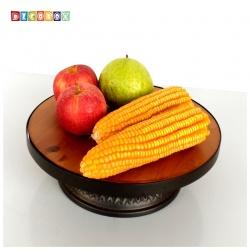 DecoBox工業風實木迎賓水果台(水果盤,收納籃, 水果籃)