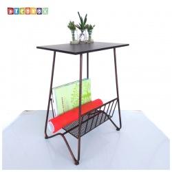 DecoBox造型小邊桌(電話桌, 雜誌架, 書報架)