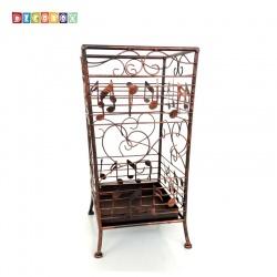 DecoBox古銅貝多芬方形萬用傘桶(音樂風,傘架,紙簍,收納桶,花盆套,颱風,下雨)