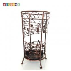 DecoBox古銅貝多芬圓形萬用傘桶(音樂風,傘架,紙簍,收納桶,花盆套,颱風,下雨)