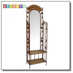 DecoBox波西米亞層架式穿衣鏡(鏡子)