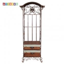 DecoBox椰風衣架收納櫃(衣物收納櫃,抽櫃,收納櫃,置物櫃,電視櫃)