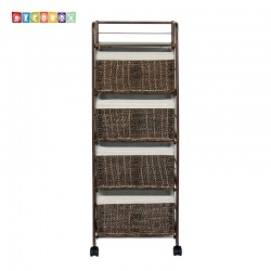 DecoBox四層K.D海草收納櫃(衣物收納櫃,抽櫃,收納櫃,置物櫃,電視櫃)