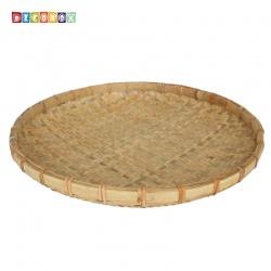 DecoBox日曬用厚竹盤(直徑84高7.5公分-1個)(抓週竹盤,搖元宵,搓湯圓,柑阿,乾阿,米苔,米篩)