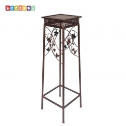 DecoBox鄉村風青銅平台中花架(多肉花架)