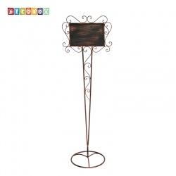 DecoBox藝術鍛鐵立式大招牌10501RV(招牌,指示牌,植物名牌,攀爬架,婚禮迎賓牌)