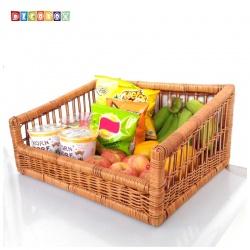 DecoBox鄉村風編織盤601(麵包盤, 備品籃, 收納雜物籃,毛巾籃)