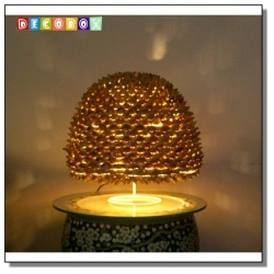DecoBox芭蕉松果球桌燈罩-宴王,桌燈.夜燈-不含線材燈泡