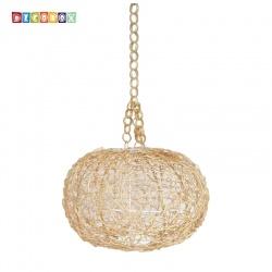 DecoBox維多利亞米白色藤編燈罩(直徑40公分)-不含燈泡線材,宴王