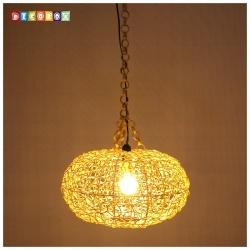 DecoBox維多利亞米白色藤編燈罩(直徑55公分)-不含燈泡線材,宴王