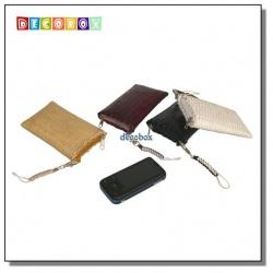 DecoBox精緻竹編直入手機袋(1個)(零錢包, 名片收納)