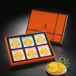 關廟之光-小太陽鳳梨乾12入禮盒(OTOP優質地方特產,台南美食.關廟伴手禮)