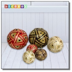DecoBox 創意竹球飾品(60公分-1個)