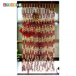 DecoBox日式鄉村風雙色竹圈簾(90*200)(玄關屏風,隔間用品.宴王,窗簾.門簾.和風竹門簾)