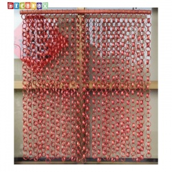 DecoBox日式鄉村風咖啡竹圈簾(90*100)(玄關屏風,隔間用品.宴王,窗簾.門簾.和風竹門簾)
