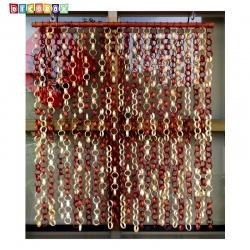 DecoBox日式鄉村風雙色竹圈簾(90*100)(玄關屏風,隔間用品.宴王,窗簾.門簾.和風竹門簾)