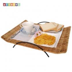 DecoBox鄉村風點心小托盤(2個)(菓盤.收納盤.水果盤.麵包盤.置物盤)