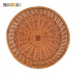DecoBox 普羅旺斯圓型收納盤(35公分-2個) (寵物籃.神桌拜拜水果盤.麵包盤.肉粽籃)