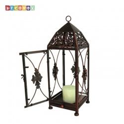 DecoBox鄉村風-地中海燭台花架(小-1個) ( 金屬燭台.玻璃鳥籠 - 燈罩.燈籠.lantern)