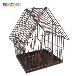 DecoBox陽光藝術古銅鳥籠大花架(多肉防鳥花架)