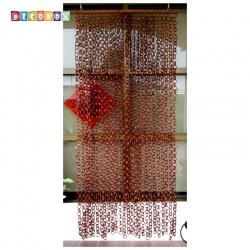 DecoBox日式鄉村風咖啡色竹圈簾(90*200)(玄關屏風,隔間用品.宴王,窗簾.門簾.和風竹門簾)