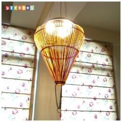 DecoBox中國古典竹燈罩(40公分)(桌燈罩.立燈罩.吊燈罩,宴王)-不含燈泡線材