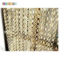 DecoBox日式鄉村風原色竹圈簾(90*200)(玄關屏風,隔間用品.宴王,窗簾.門簾.和風竹門簾)